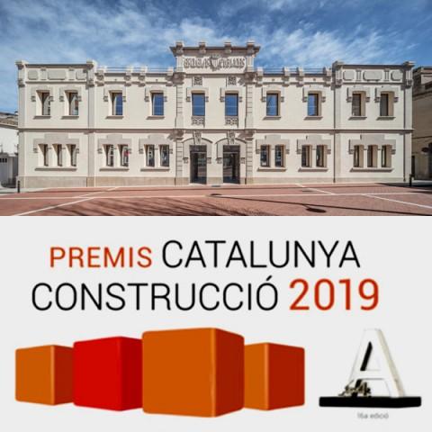 Finalistes premi Catalunya Construcció 2019