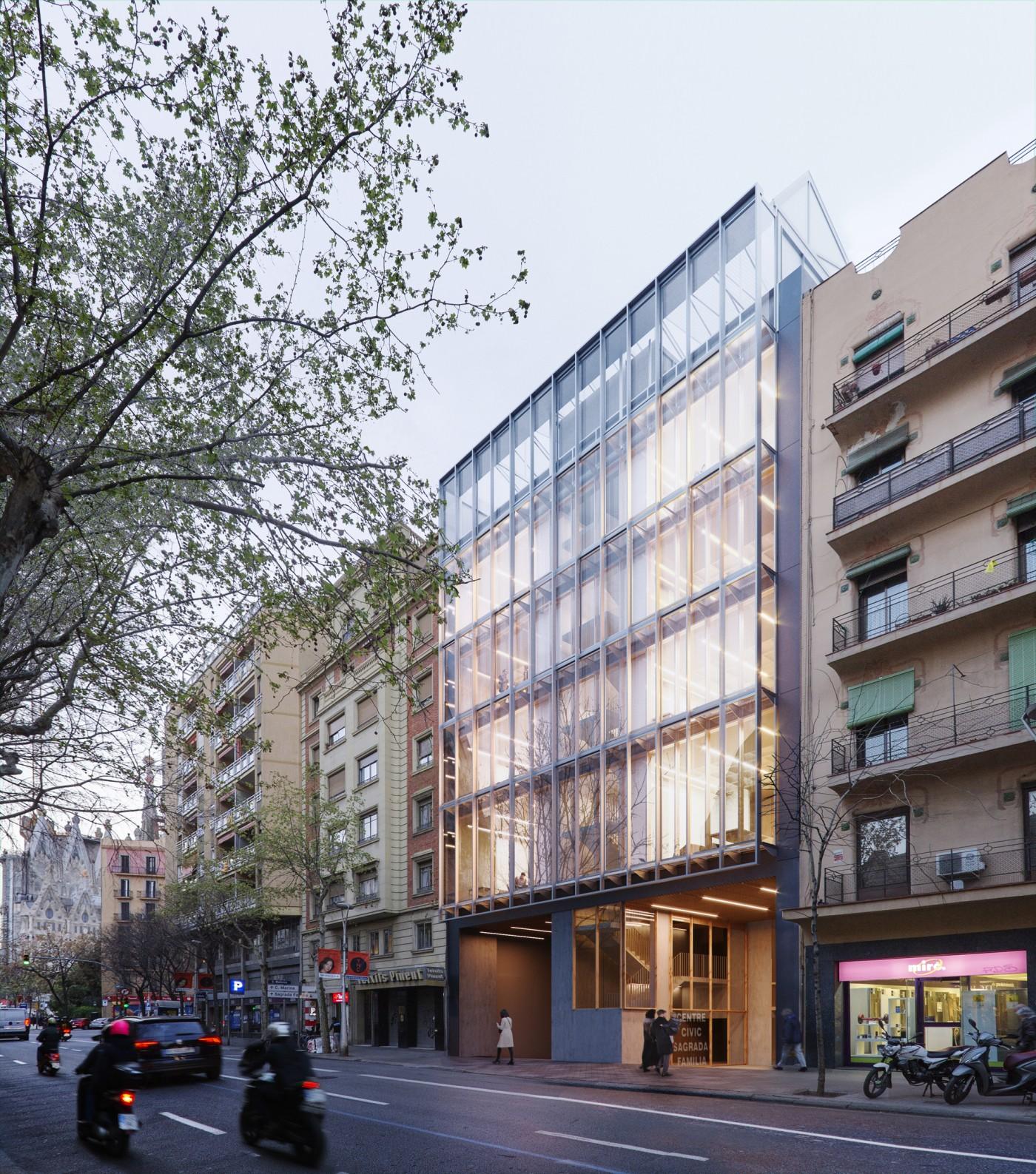 Conjunt equipaments municipals Sagrada Família