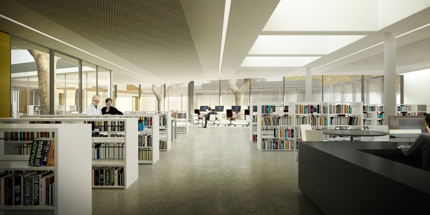 sala lectura biblioteca