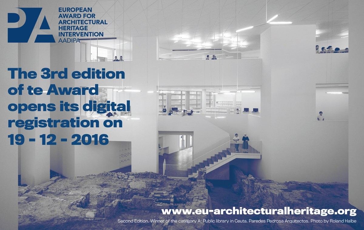 European Award for Architectural Heritage Intervention.