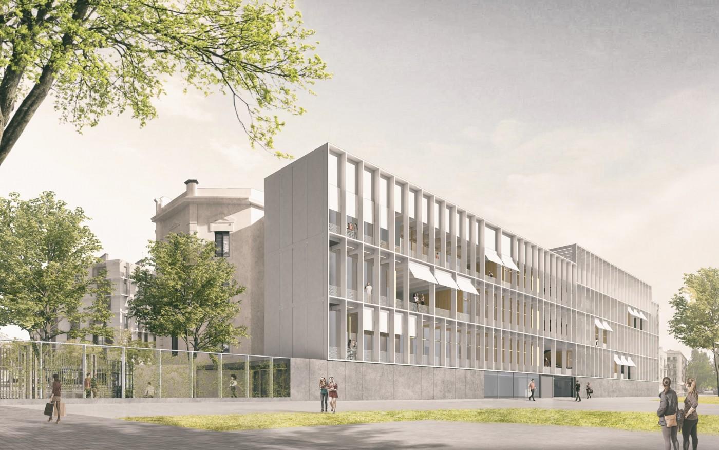 Rehabilitació edifici existent i ampliació