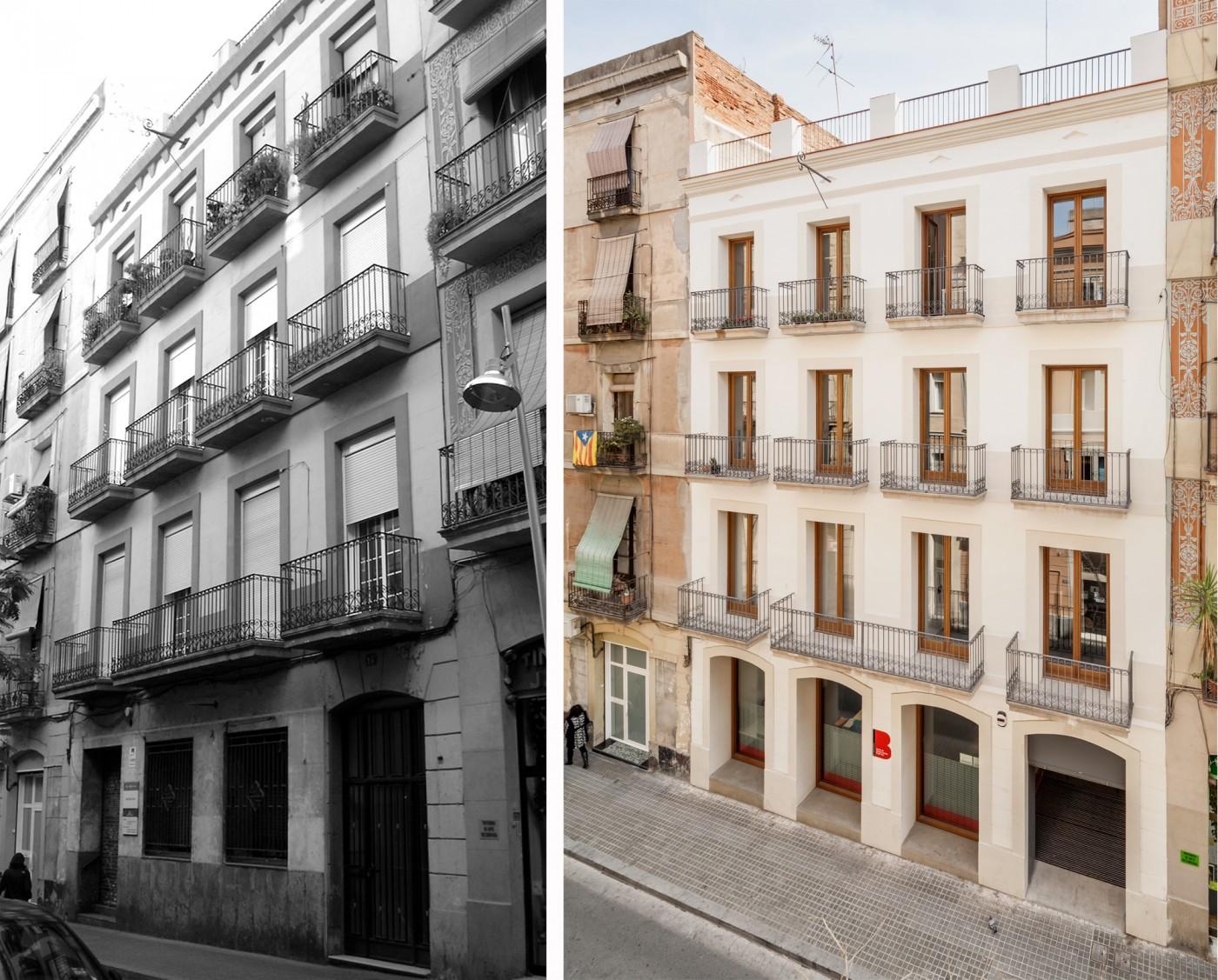 Carrer Roser, Pobles Sec, Barcelona