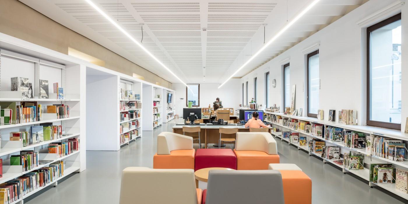 zona infantil biblioteca