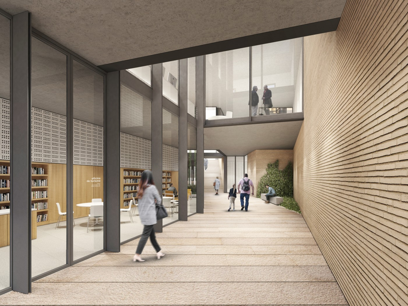 Biblioteca Súria rehabilitació i ampliació