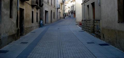 urbanització carrers sant pere torelló