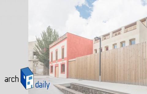 Centre Europeu de la pell de qualitat a Archdaily