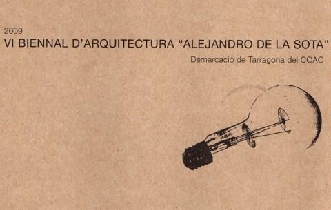 Llibre catàleg '2009 VI Biennal d'Arquitectura Alejandro de la Sota'