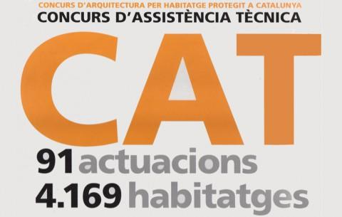 Llibre catàleg 'Concurs d'arquitectura per habitatge protegit a Catalunya. Concurs d'assistència tècnica 91 actuacions, 4.169'